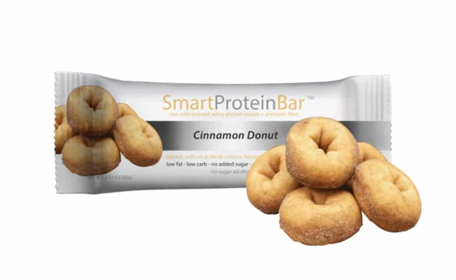 Cinnamon Donut Protein Bar made by Smart Diet Solutions
