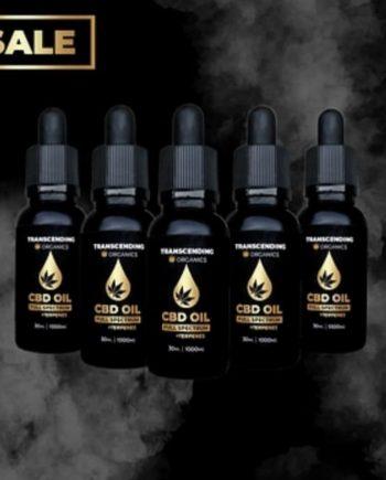 5 pack of 1000mg CBD Oil. Full Spectrum Hemp Oil Derived From cbd rich hemp plants to ensure the hemp oil is thc free